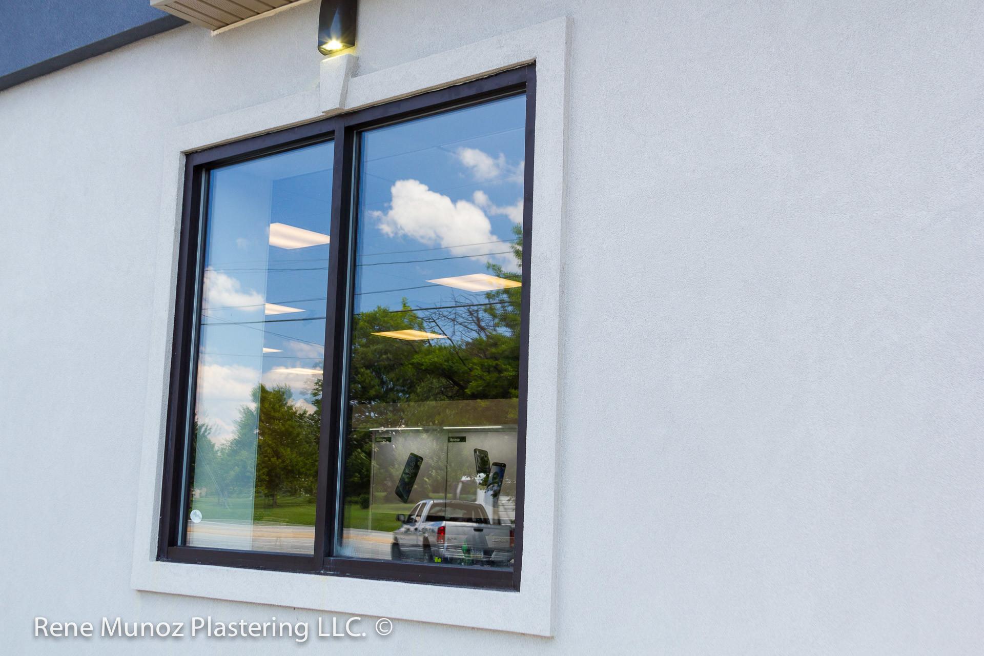 Verizon Store Quality Stucco Siding Plastering Water