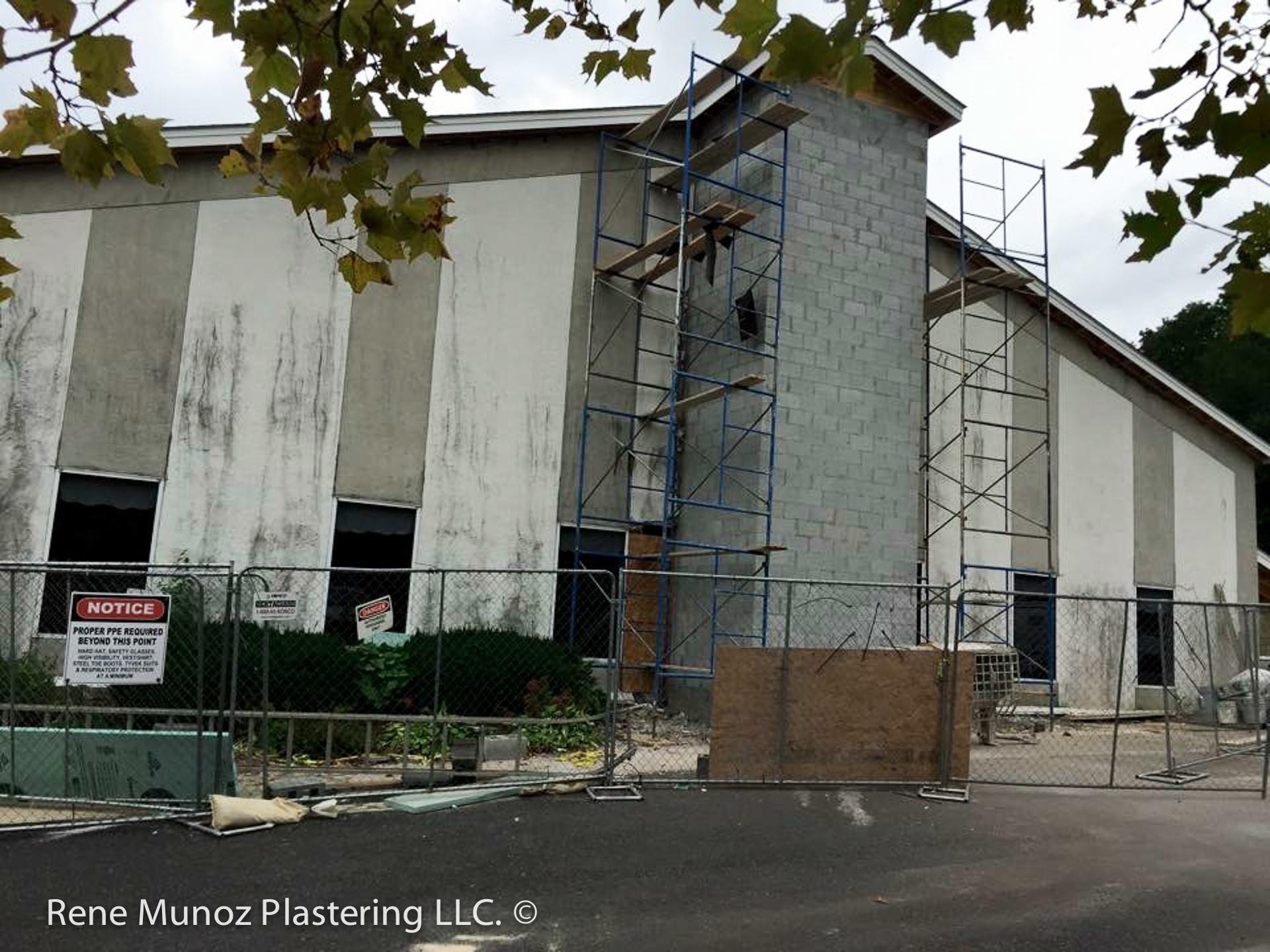 Valley View Church Quality Stucco Siding Plastering