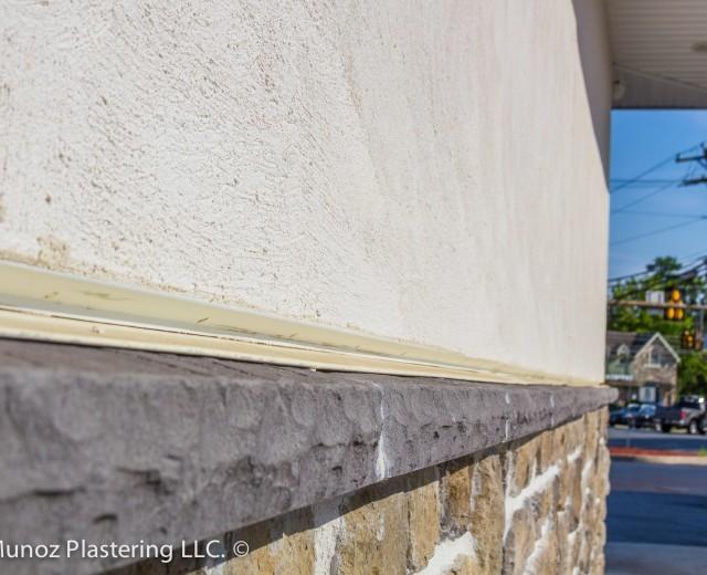Sunoco Gas Station Quality Stucco Siding Plastering